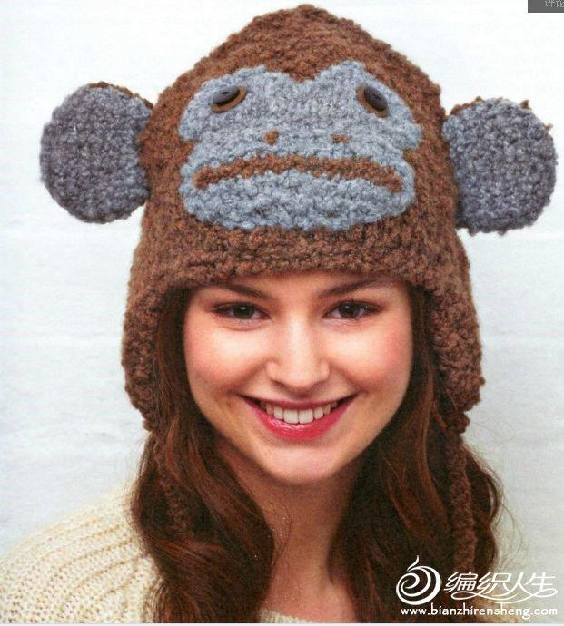 转载:超级可爱的动物帽子