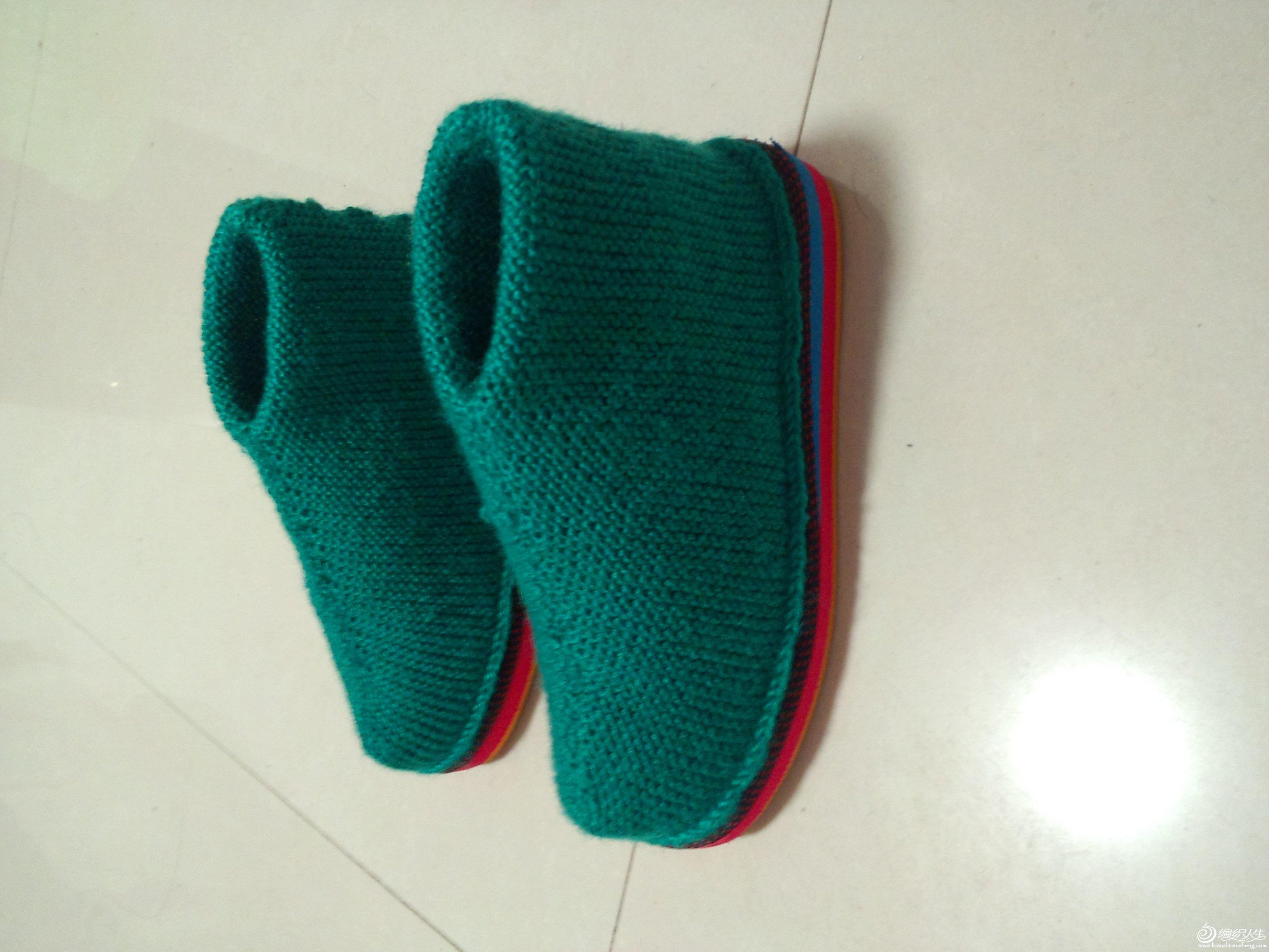 针织毛线鞋子花样图纸_针织毛线鞋子花样图纸图片