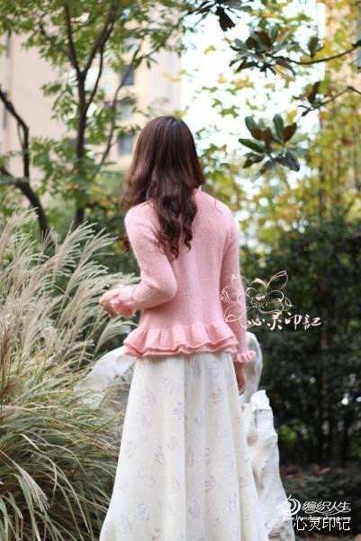 【心灵印记】爱莲——粉粉的荷叶花边衣 - 手有于香 - 手有于香的博客