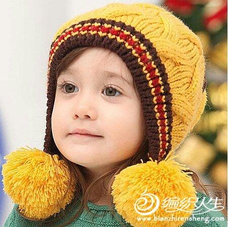 专题 果果手工 帽子       许婷 版块:[儿童毛衣(棒针)]仿淘宝可爱
