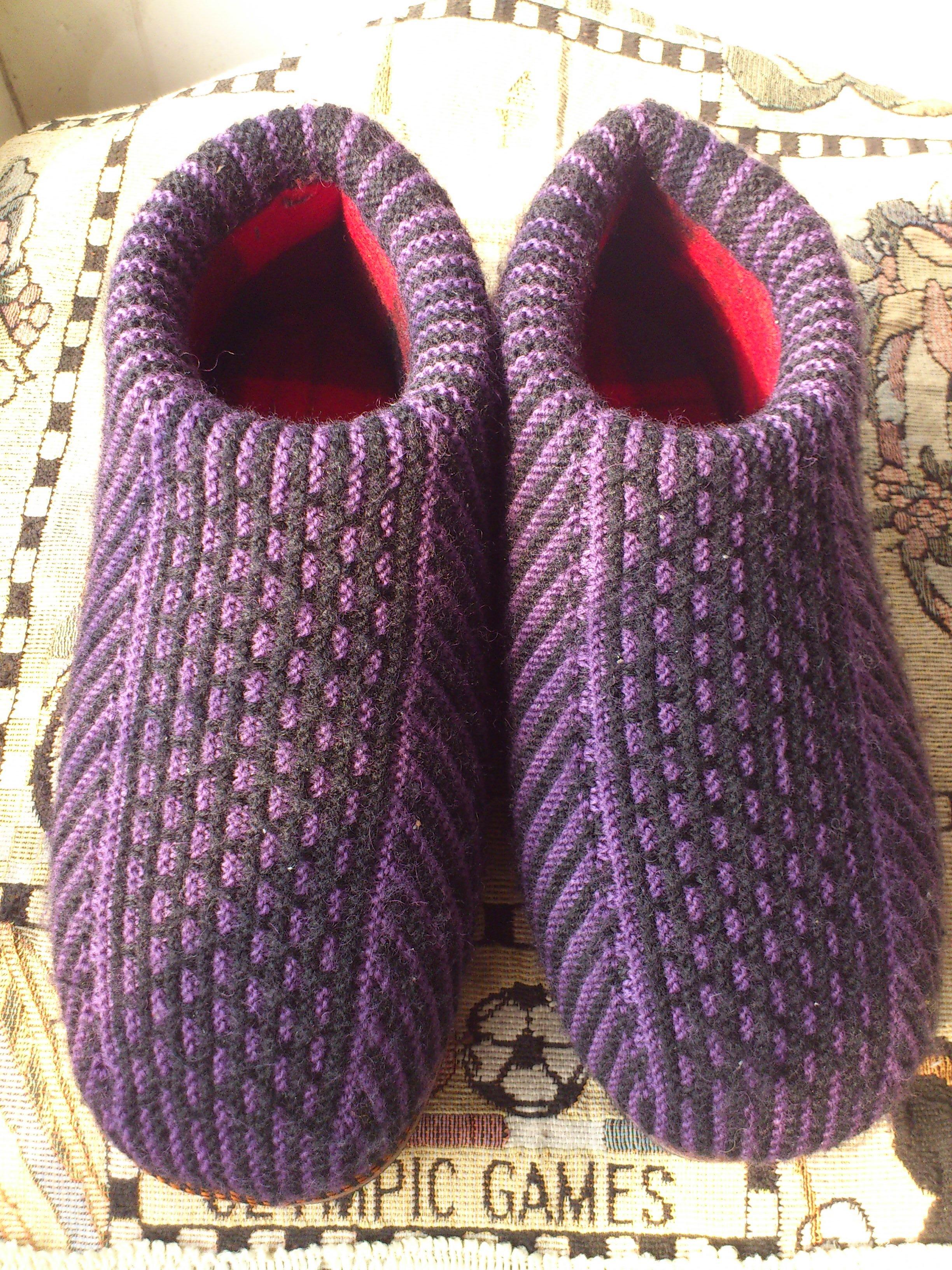 织拖鞋的步骤图片