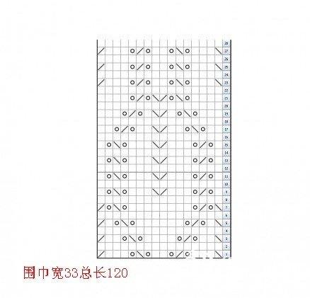 保蕊大红围脖-经典叶子花(有缝合教程和图解)