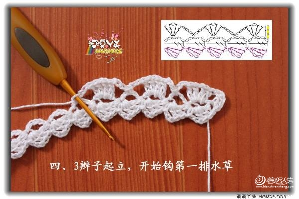 编织人生转的漠漠丫头的蕾丝领 - wang.680205 - 缘分天空的编织小屋