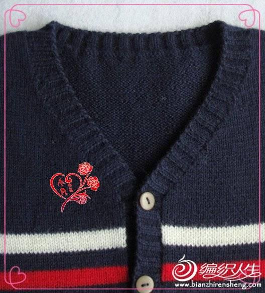 [90~110cm中童花样图案] 【鱼香茄子】收藏之棒针男孩2——开衫外套(链接+图片) - yn595959 - yn595959