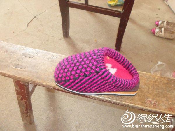 织的毛线拖鞋和棉鞋
