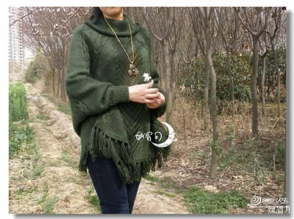娥眉月作品——揽春(超级拉风的斗篷衣) - 手有于香 - 手有于香的博客