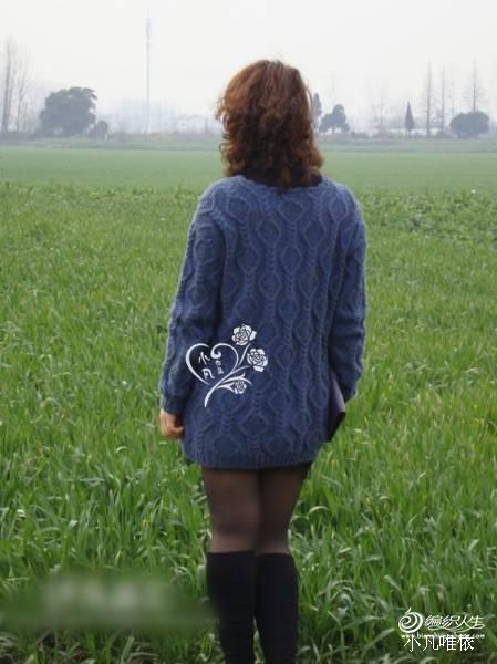 凡之森姌---森女麻花休闲套衫 - 手有于香 - 手有于香的博客