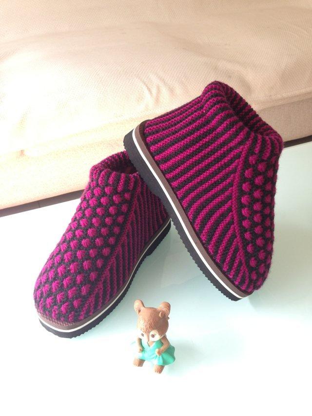棉鞋编织动物图纸_棉鞋编织动物图纸图片分享