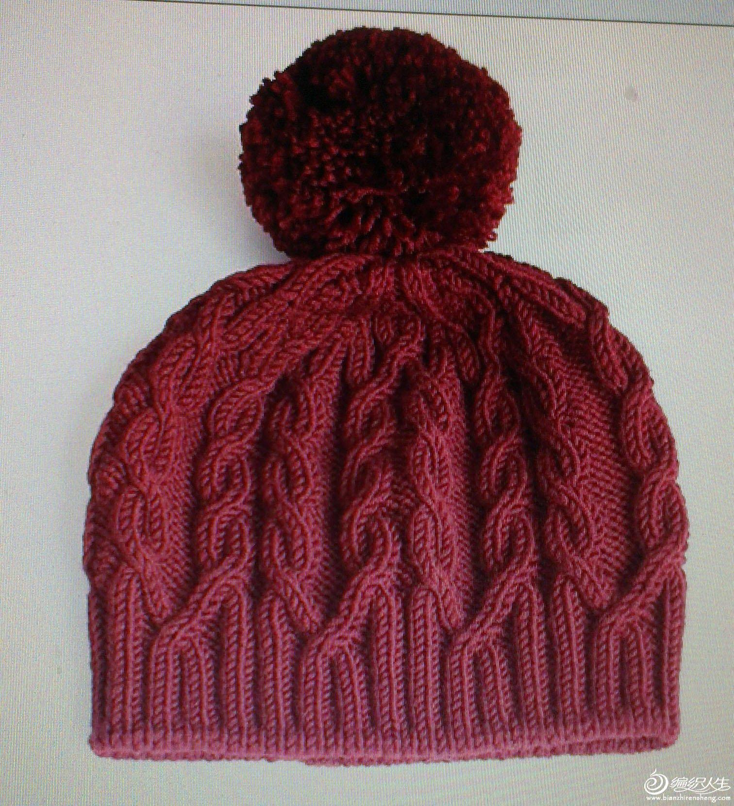 钩针编织婴儿帽子教程