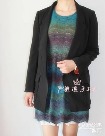 邂逅手工——花漾~~~中袖段染裙 - 手有于香 - 手有于香的博客