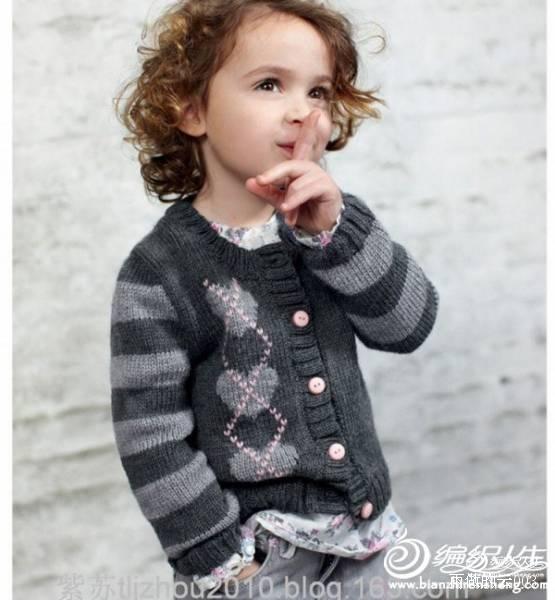 [90~110cm中童毛衣] 心心相映 男童长袖开衫(视频)---明月的棒针艺术 - 手有于香 - 手有于香的博客