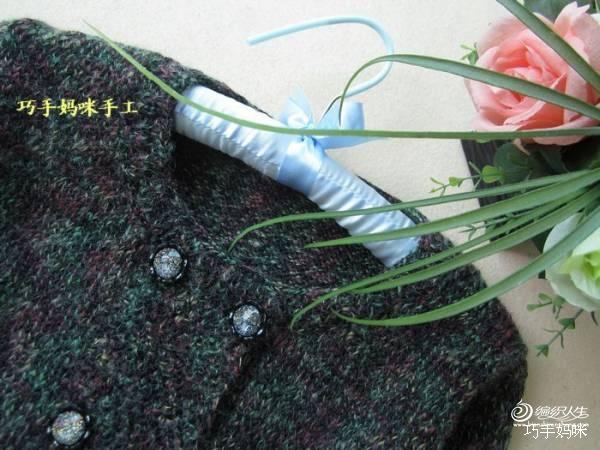 【巧手妈咪】-----古森-----彩花呢短开衫 - 手有于香 - 手有于香的博客