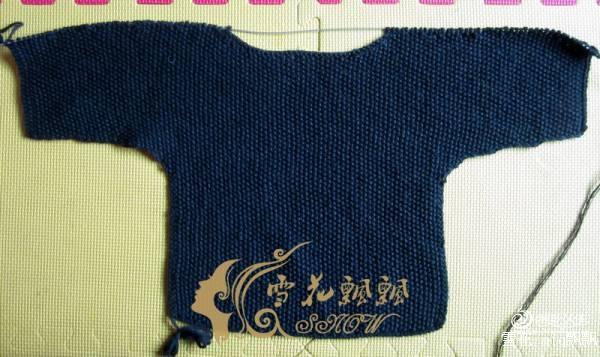 [50~80cm婴幼儿毛衣] 暗香--一款简单大方的儿童毛衣 - 手有于香 - 手有于香的博客