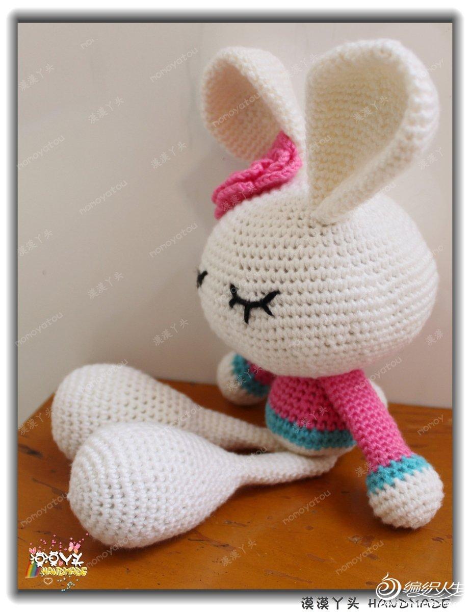 正面兔子简笔画