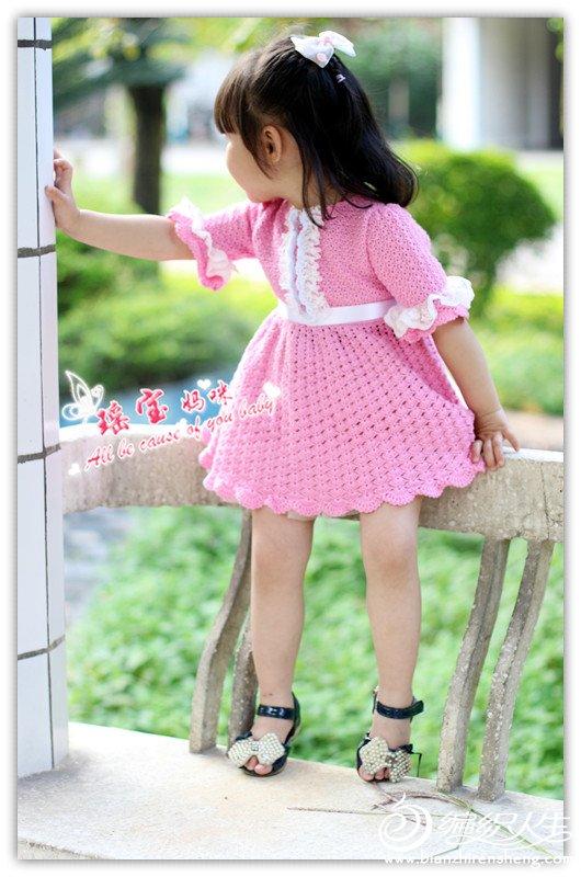 马上开工的小女孩裙子