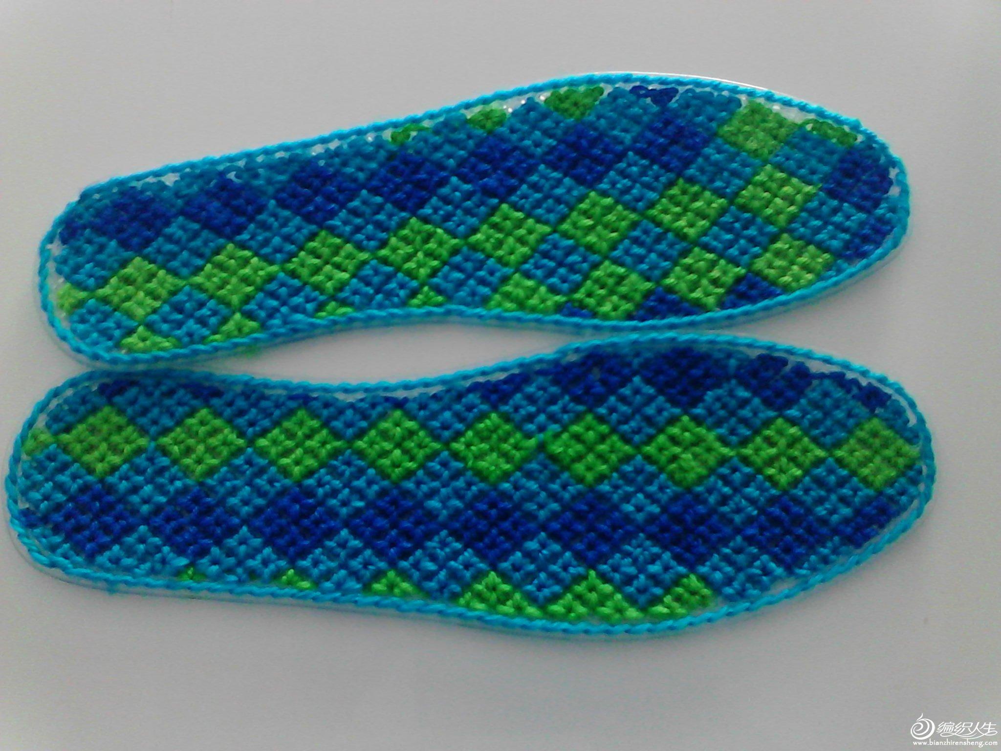 斜格塑料鞋垫图纸