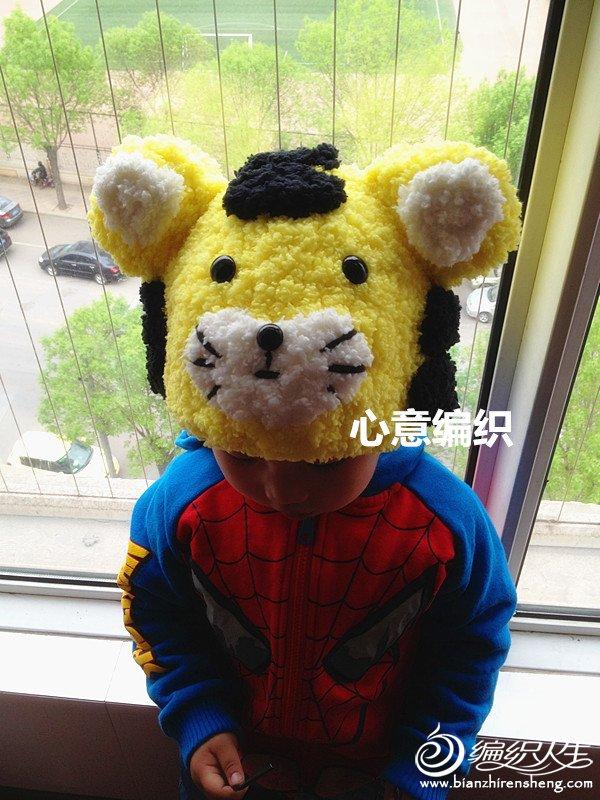 编织宝宝动物围巾