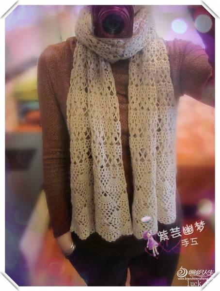 [围巾] 紫芸幽梦手工 * 花瓣雨 * 围巾 - yn595959 - yn595959  彦妮