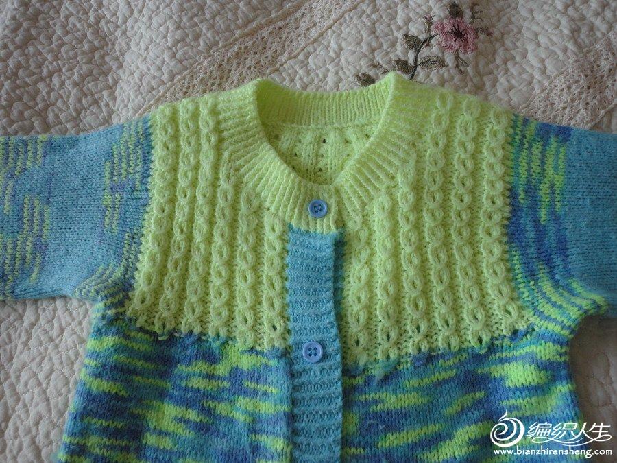 零线织的婴儿连体裤图片
