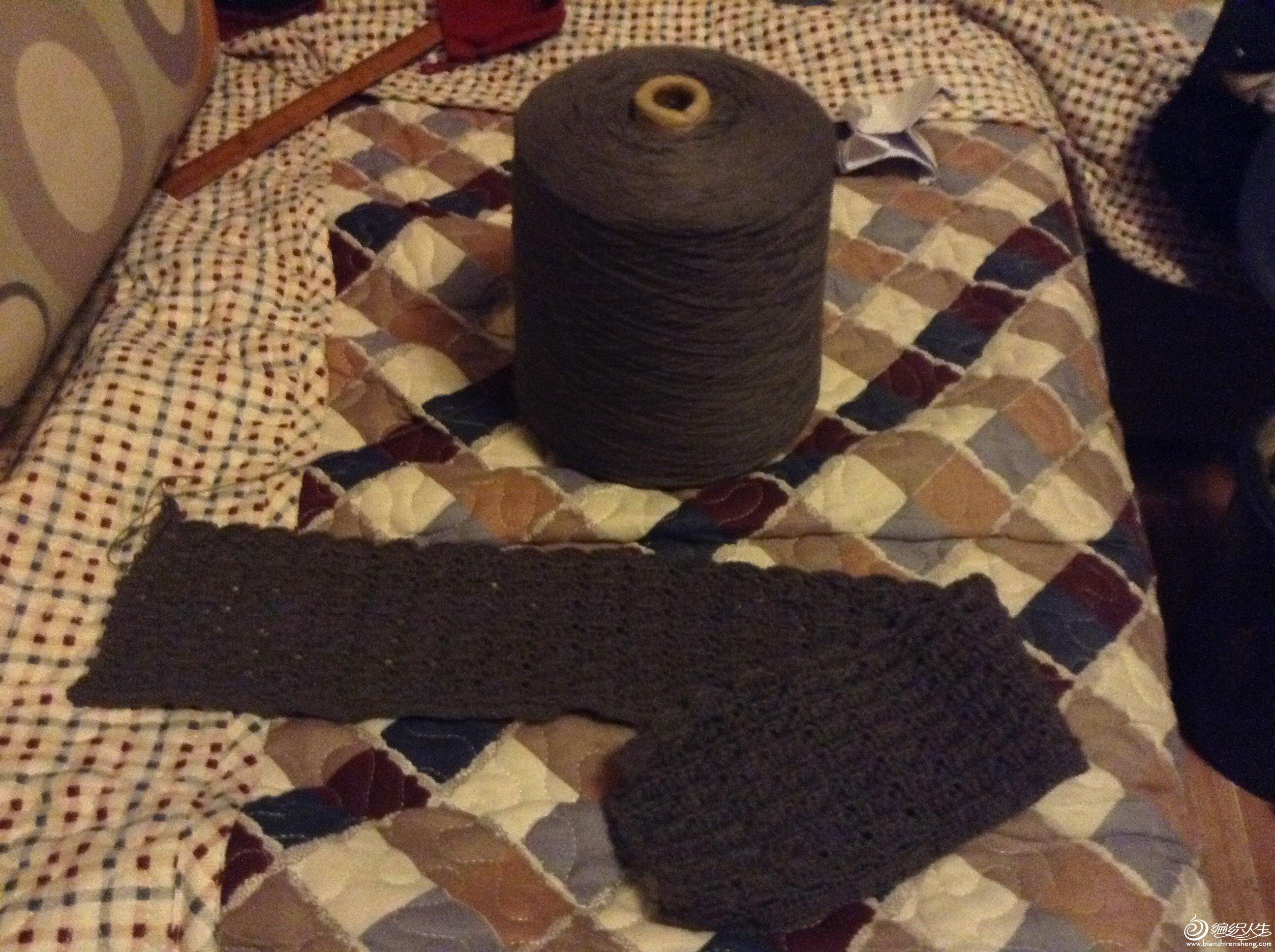仿【moon翻译】interweave crochet 钩针长款蕾丝披肩高清图片