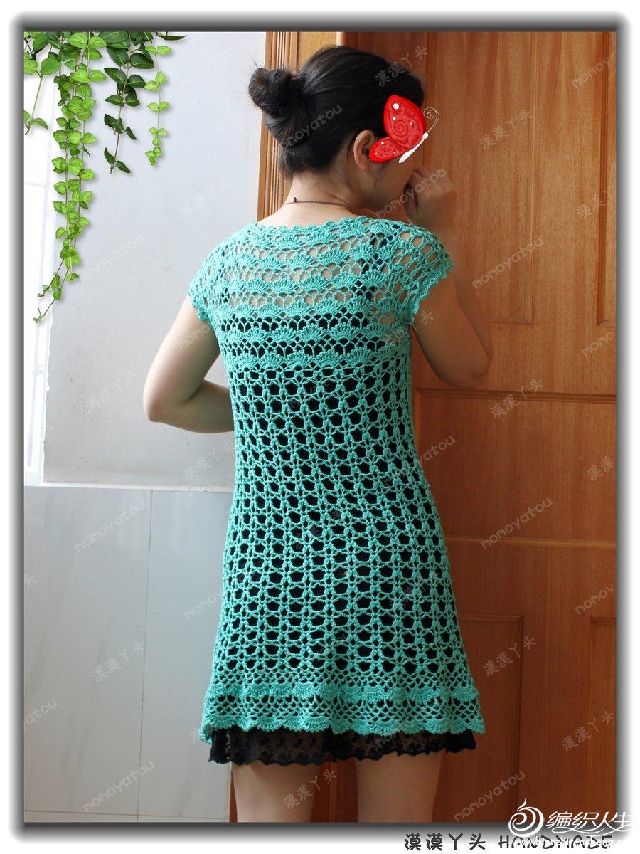 Ажурное платье - Все в ажуре. (вязание крючком) 5