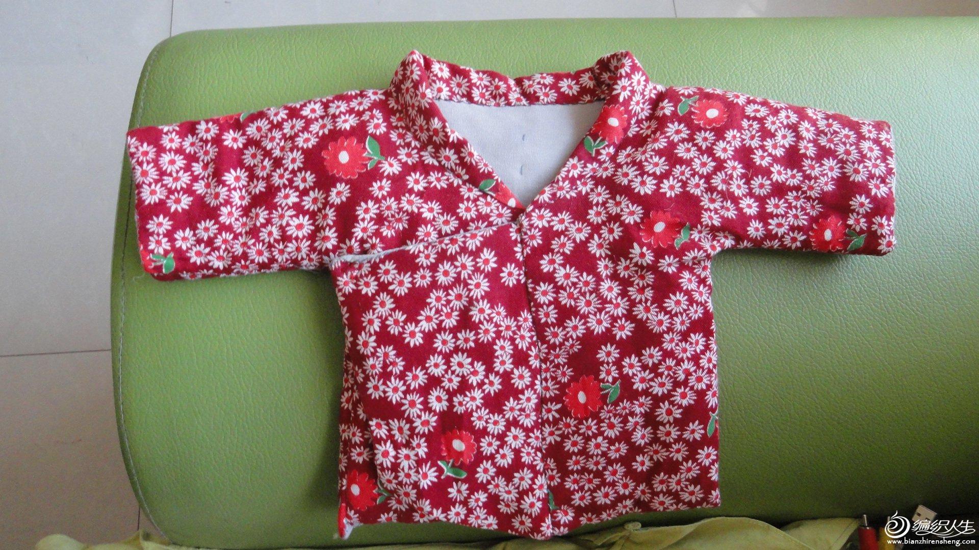手工diy俱乐部 69 服装设计与裁剪 69 学习缝制婴儿棉衣,棉裤