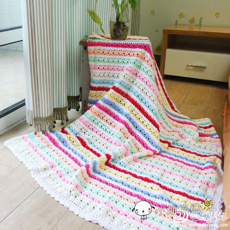 可爱的心形毯子