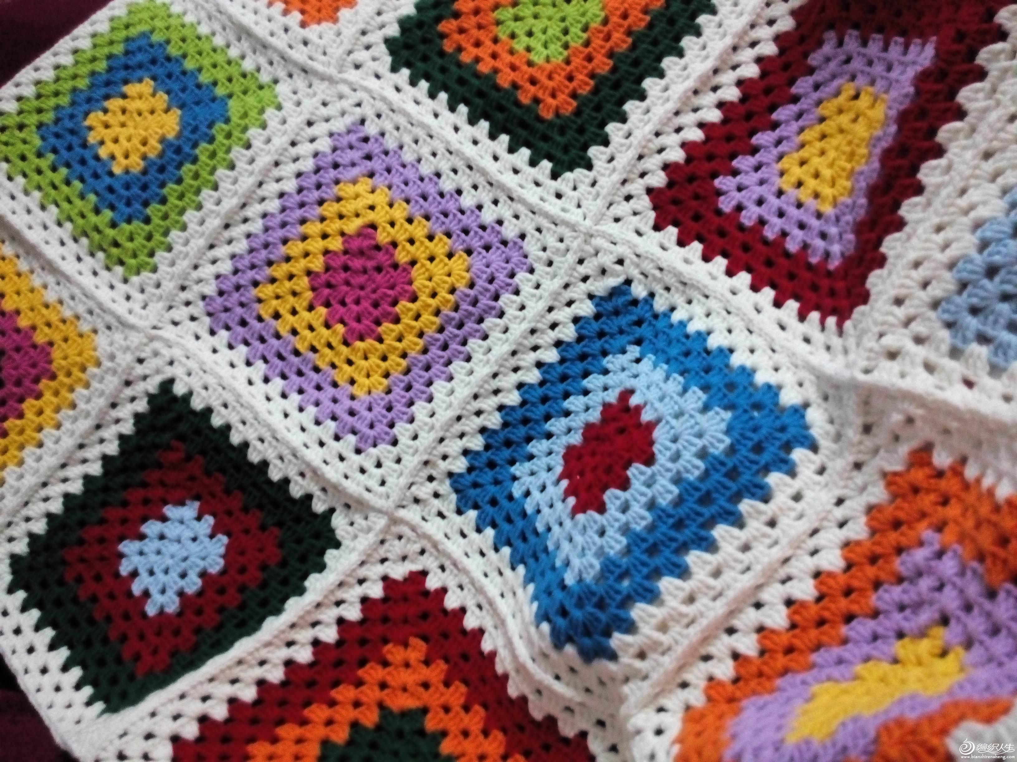 钩针编织--抱枕篇_钩针编织作品秀_编织人生论坛