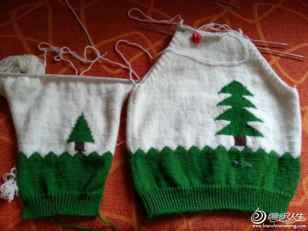 首页 居家生活 手工制作 > [50~80cm婴幼儿毛衣] 怎么会织了这许多