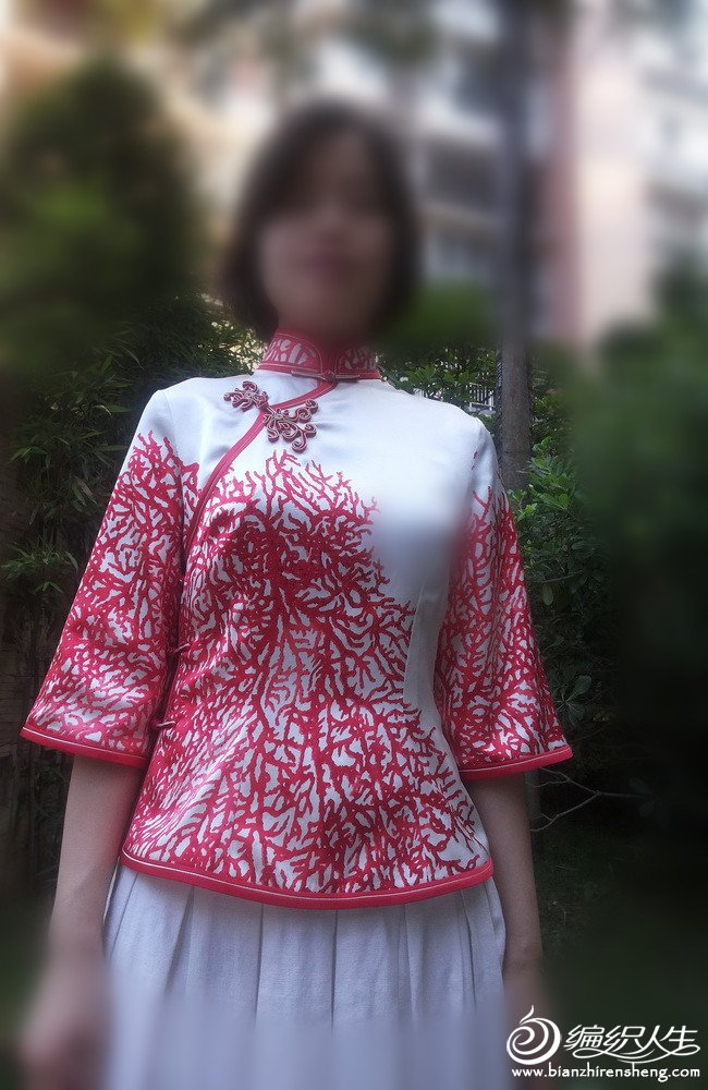 手工diy俱乐部 69 服装设计与裁剪 69 三叶玫原创服饰----民国