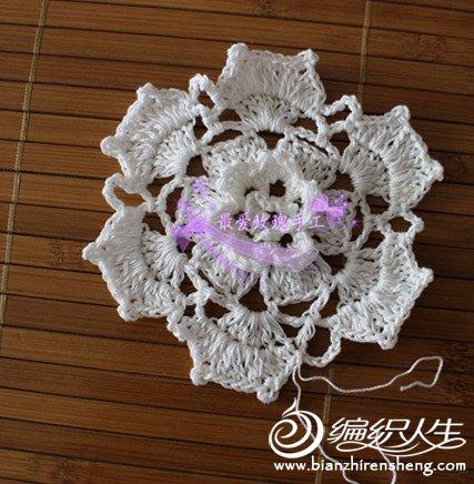 69 钩针编织作品区 69 钩针编织作品秀 69 夏日玫瑰---立体花