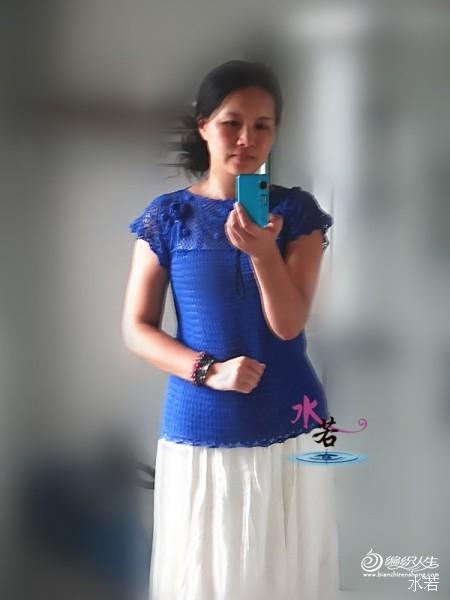 [套头衫] 【心水凉凉衫】水若作品——暗香青衣 - yn595959 - yn595959 彦妮