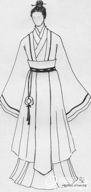 论坛 69 手工diy俱乐部 69 服装设计与裁剪 69 求汉服的裁剪图