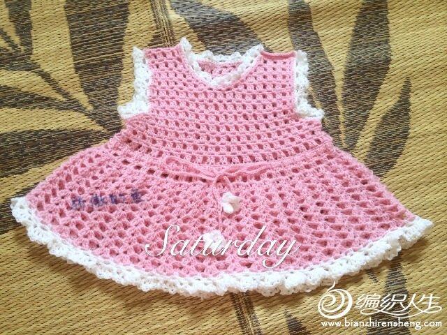 新生儿--粉嫩粉嫩宝宝裙.(有图解)