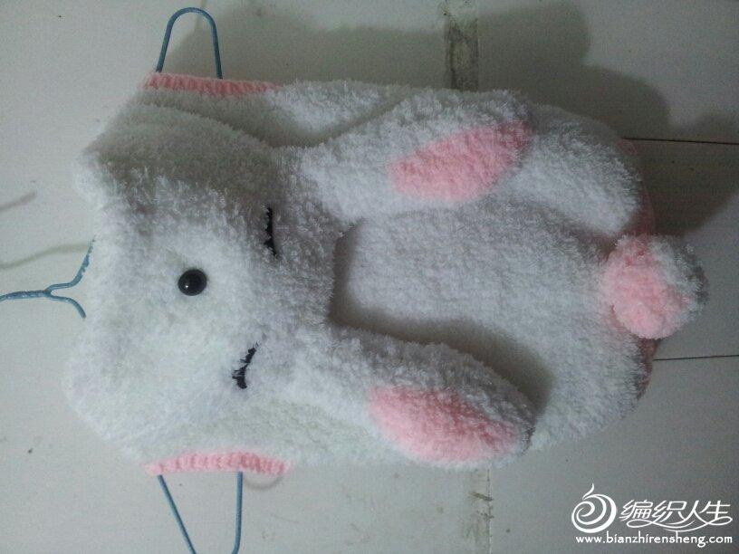 钩针编织动物三只兔子图片大全