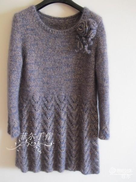 [裙装] 【菲尔手作】蓝调---小A版礼服裙(美图+女儿秀) - 西湖一品 - 西湖·一品
