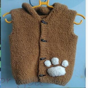 小熊背心 - 编织人生