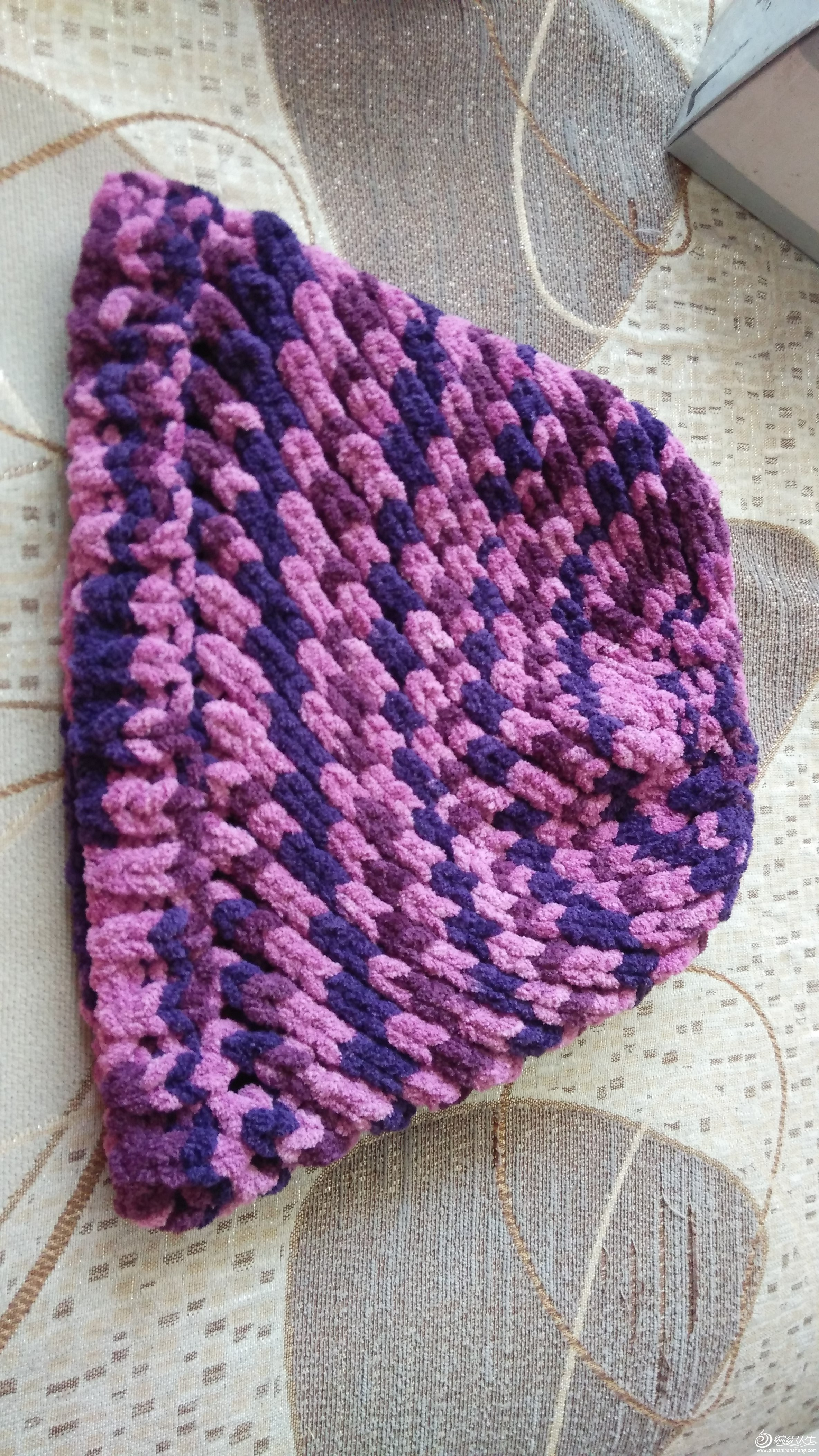 编织人生怎样织帽子_最近织的几款帽子_编织人生论坛