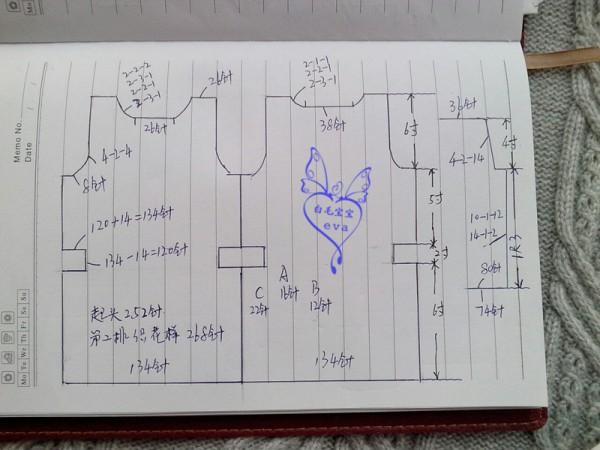 【引用实例教程】自恋 志田款 袖身连织 - 壹一 - 壹一的博客