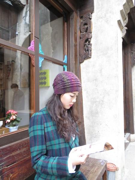 润色之美女士漂亮帽子(全程视频+真人秀) - 凤尾草 - 1024569025的博客