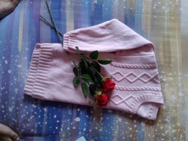 【素娥手工】(2014-10)婵玉-----羊毛羊绒少女装 - 素娥 - 宁静的港湾