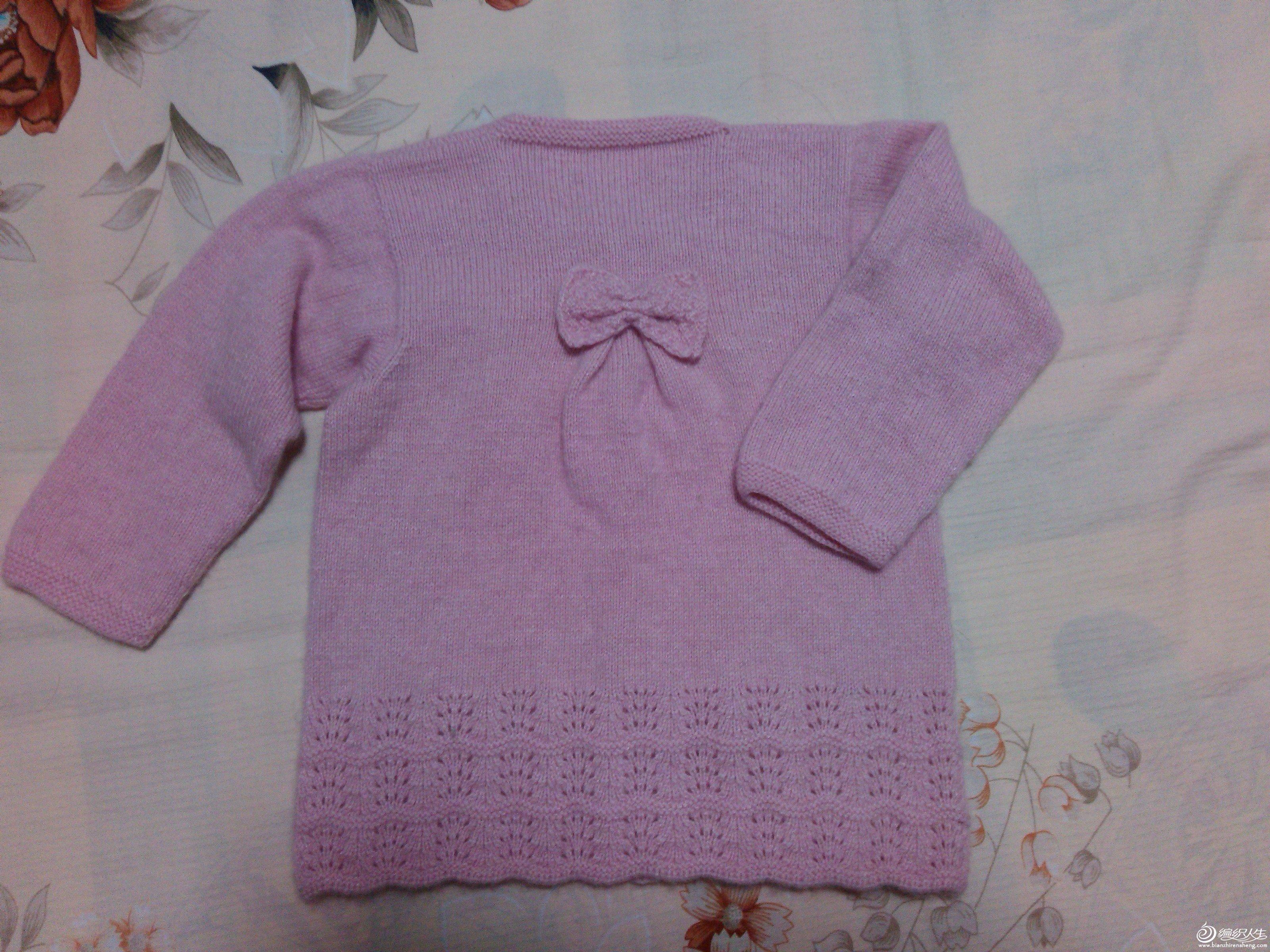 可爱的女宝宝开衫