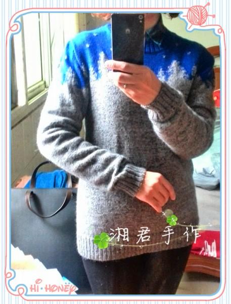 李敏镐同款雪花提花毛衣 - xuanji520 - 天使的后花园
