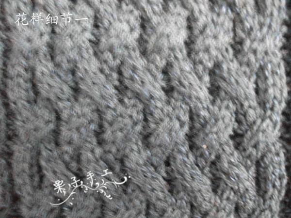 [裙装] 【栗子手工】似水流年---藏蓝色美丽诺修身连衣裙(织鲤鱼翻译的经典中长款麻花衣) - yn595959 - yn595959 彦妮