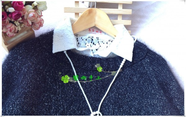 [套头衫] 紫雨手工-星荧-钻石马海插肩袖 - yn595959 - yn595959  彦妮