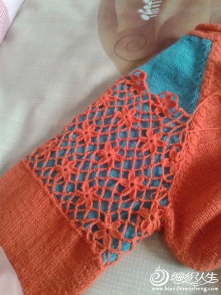 转:[套头衫] 【秋天没有落叶】香袖—仿裂帛钩织结合打底衫 - 随心索衣 - 随心索衣