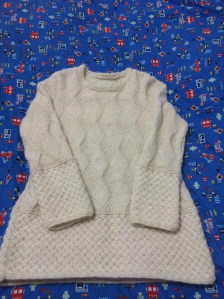 [套头衫] 素锦~~ 米白羊驼绒套头衫(补上花样图解) - yn595959 - yn595959  彦妮