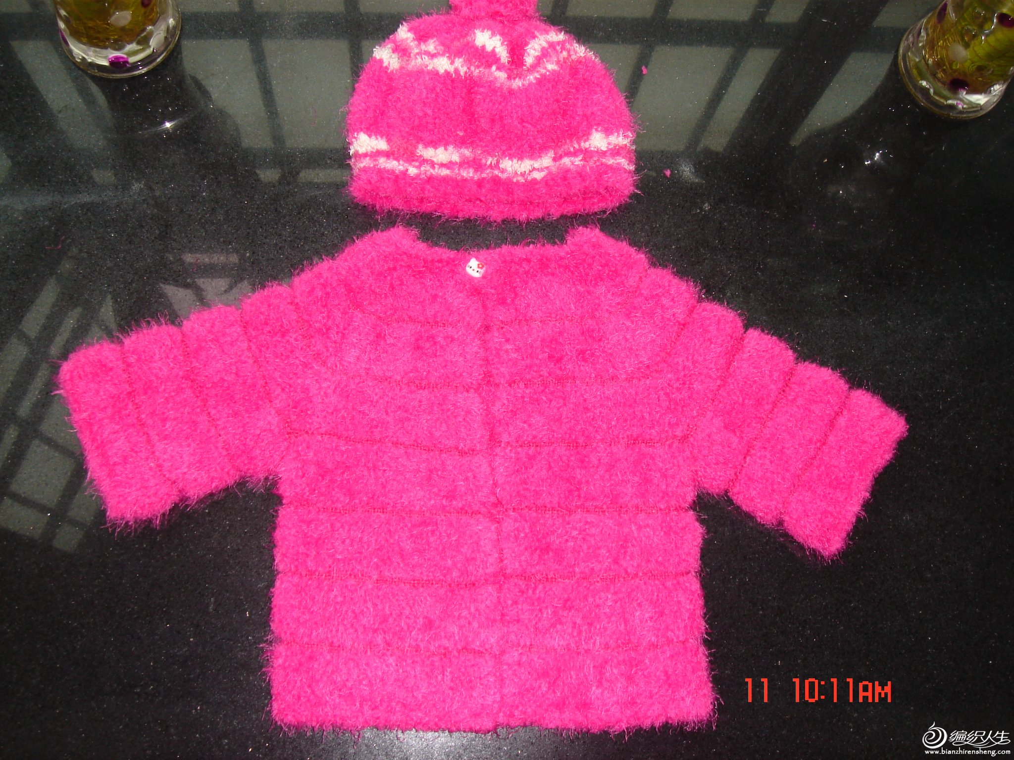 玫红皮草和帽子1.JPG