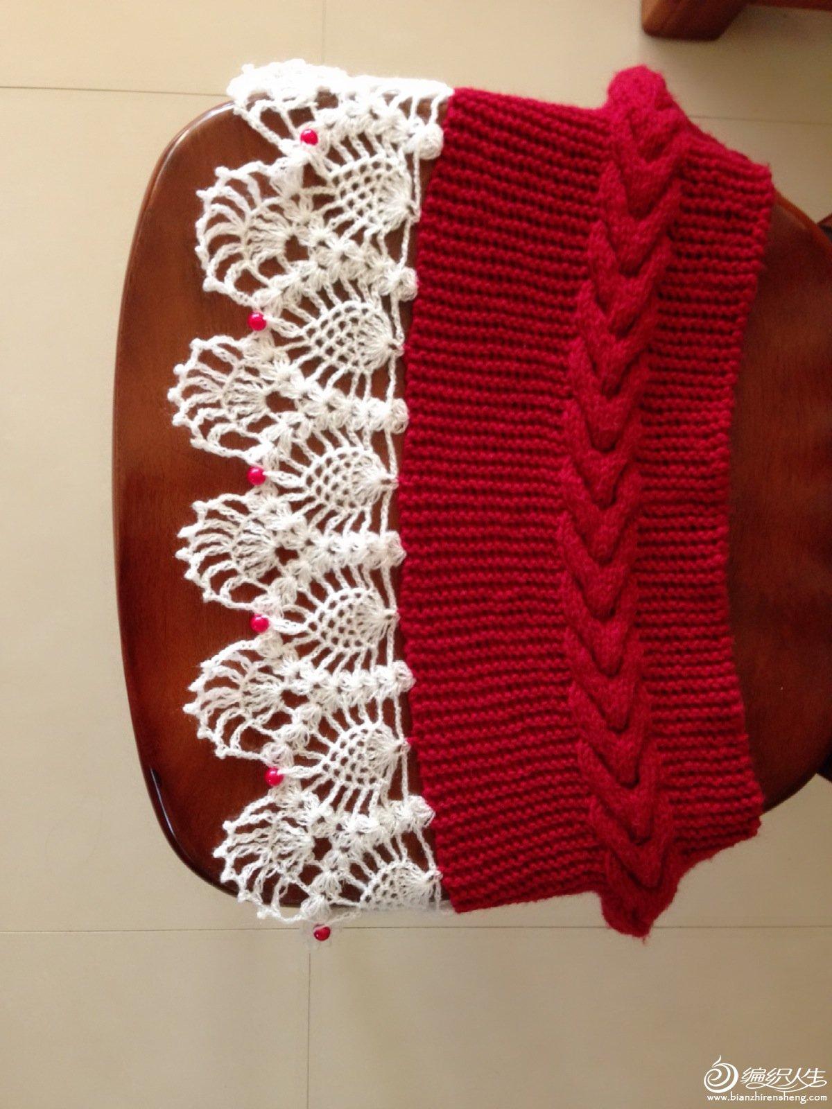 纸壳织围巾步骤图