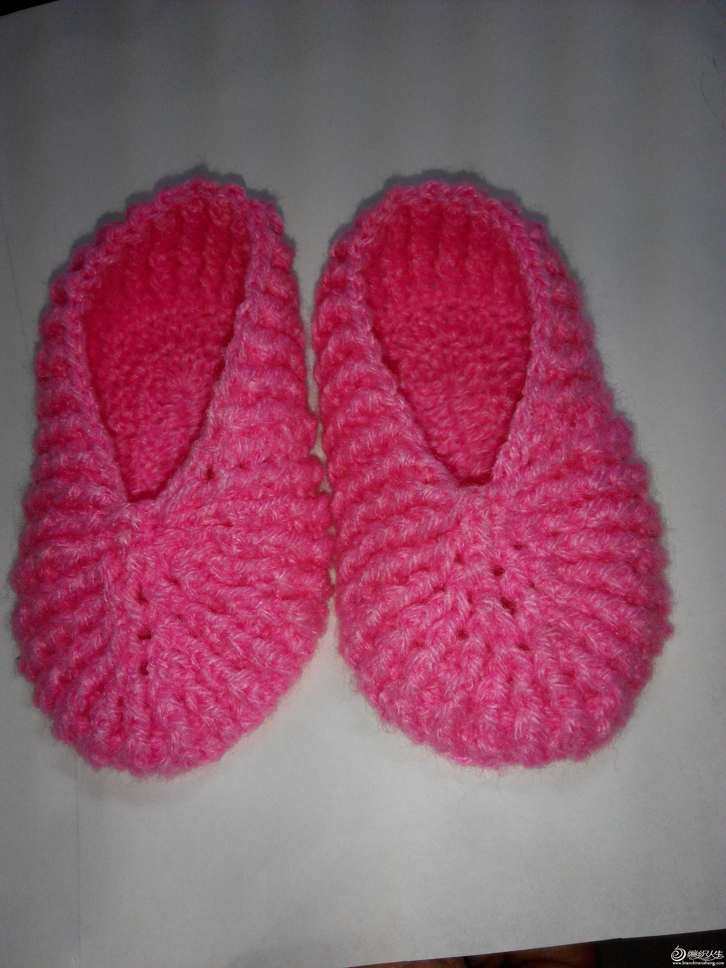 [鞋袜] 织给宝宝的小鞋子